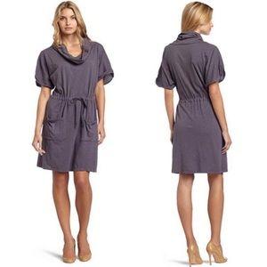 Velvet x Calypso St Barth Slub Cowl Neck Dress